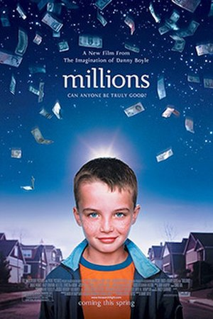 Millions (2004 film) - Theatrical release poster