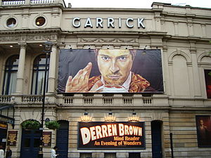 Derren Brown at the Garrick Theatre, June 2008