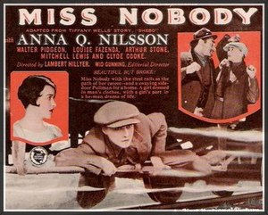 Miss Nobody (1926 film) - 1926 theatrical poster