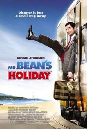 Mr. Bean's Holiday - Theatrical release poster