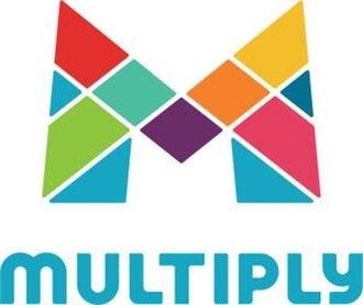 Multiply (website) - Image: Multiply (2013 logo)