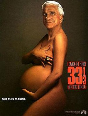 More Demi Moore - Leslie Nielsen in the Naked Gun 33⅓: The Final Insult advert.