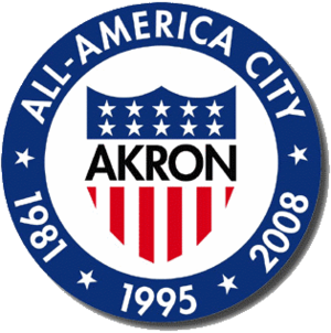 Official seal of City of Akron