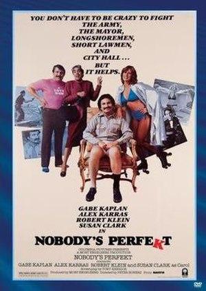 Nobody's Perfekt - Image: Nobody's Perfekt Video Cover