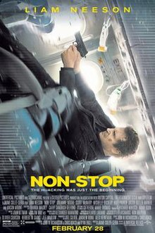 Non Stop (2014) (In Hindi) SL DM w/eng subs -  Liam Neeson, Julianne Moore, Michelle Dockery, Lupita Nyong'o and Scoot McNairy