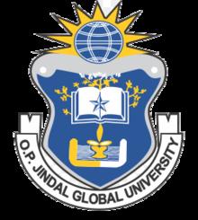 Image result for o.p. jindal global university logo