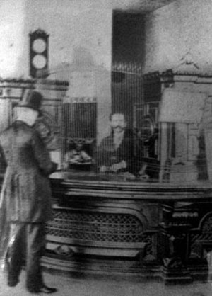 O. Henry - Porter as a clerk at the First National Bank, Austin