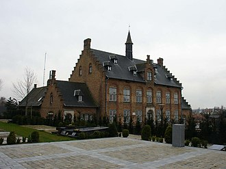 Westrozebeke - The old Town Hall of the village