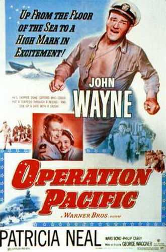 Operation Pacific - original theatrical poster