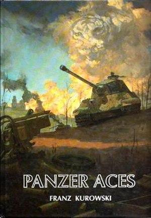 Panzer Aces (book series) - Image: Panzer Aces by Franz Kurowski
