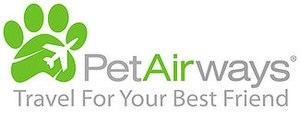 Pet Airways - Image: Pet Airways logo