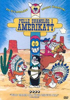 <i>Peter-No-Tail in Americat</i> 1985 film by Stig Lasseby