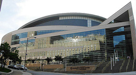 Petersen Events Center, home of Pittsburgh Panthers basketball Petersen Events Center 1a.jpg