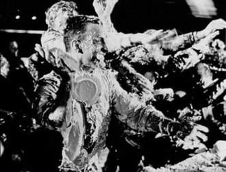 Dr. Strangelove - The cream pie fight was removed from the final cut.