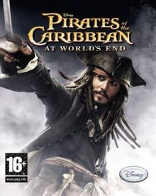 Pirates Of The Caribbean At Worlds End Video Game Cover Jpg
