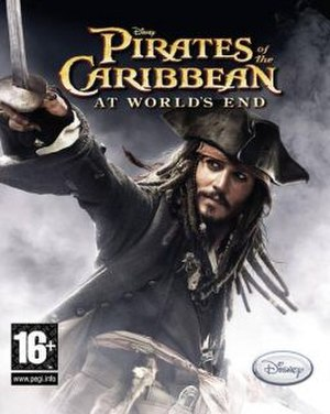 Pirates of the Caribbean: At World's End (video game) - Cover Art