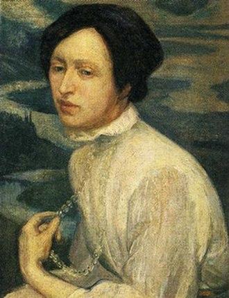 Angelina Beloff - Portrait of Angelina Beloff by Diego Rivera, 1909