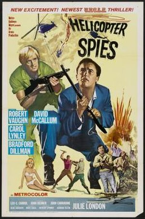 The Helicopter Spies - Image: Poster of the movie The Helicopter Spies
