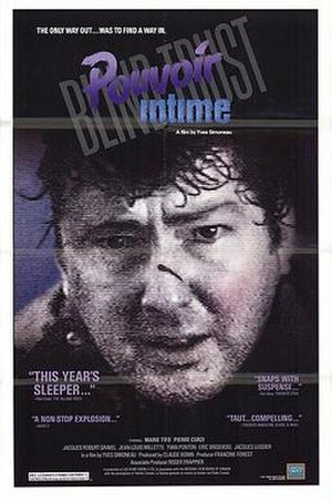 Intimate Power (1987 film) - Image: Pouvoir Intime Poster