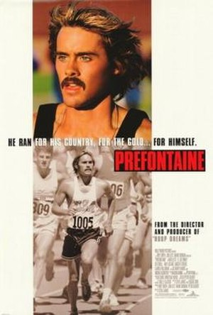 Prefontaine (film) - Theatrical release poster