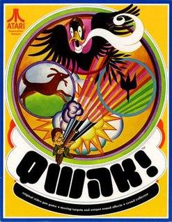 <i>Qwak!</i> 1974 video game