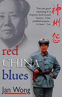 <i>Red China Blues</i> book by Jan Wong