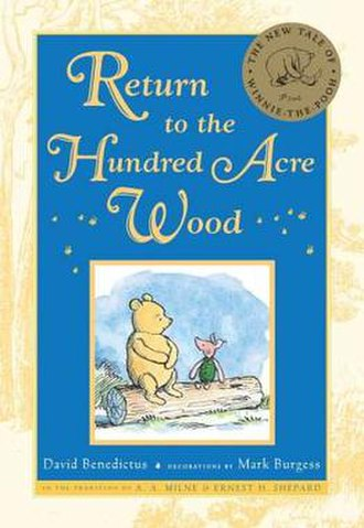 Return to the Hundred Acre Wood - 1st edition, Dutton Press