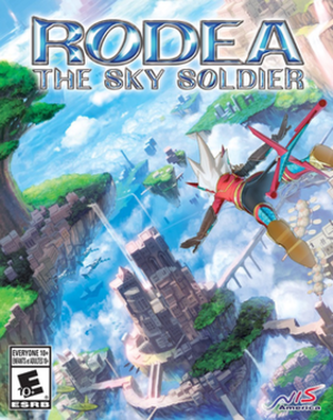 Rodea the Sky Soldier - Image: Rodeaboxartna