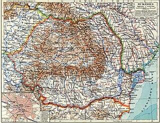Regions of the Peoples Republic of Romania