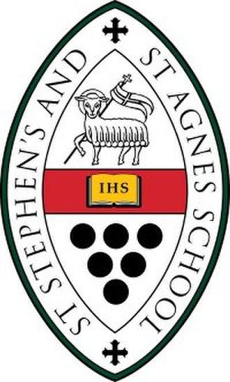 St. Stephen's & St. Agnes School - Image: SSSAS Seal