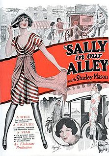 <i>Sally in Our Alley</i> (1927 film) 1927 film by Walter Lang