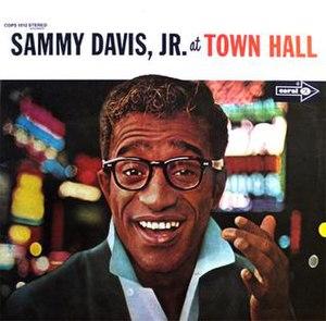 Sammy Davis Jr. at Town Hall - Image: Sammydavistownhall