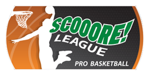 Basketball League Belgium Division I - Image: Scooore League logo