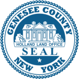 Genesee County, New York - Image: Seal of Genesee County, New York