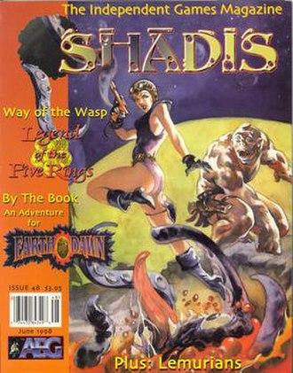Shadis - Image: Shadis issue 48
