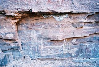 Sierra de Guadalupe cave paintings