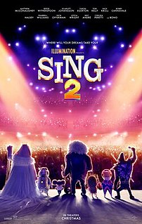<i>Sing 2</i> Upcoming film