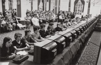 Esports - Attendees of the 1981 Space Invaders Championships attempt to set the highest score