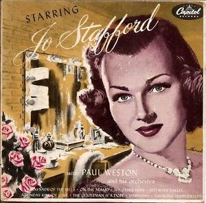 Starring Jo Stafford - Image: Starring jo stafford