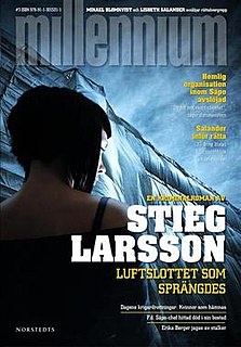 <i>The Girl Who Kicked the Hornets Nest</i> 2007 Book by Stieg Larsson