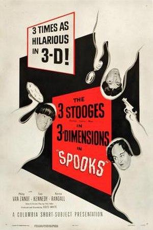 Spooks (1953 film) - Image: Stooge spooks 53