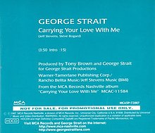 Strait - Carrying Your Love cover.jpg