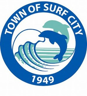 Surf City, North Carolina - Image: Surfcity Seal