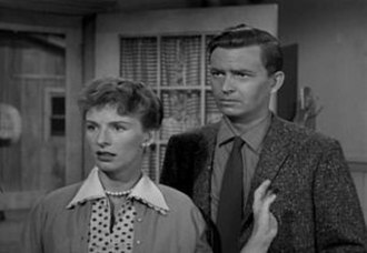 Paul Martin (Lassie) - Leachman and Shepodd in their debut episode (1957)