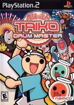 Taiko Drum Master PS2 US front 400px.jpg