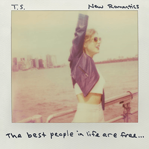 New Romantics (song) - Image: Taylor Swift New Romantics (Official Single Cover)