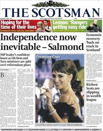 The Scotsman - The Scotsman cover (11 May 2011)