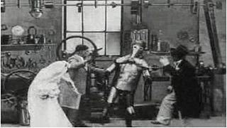 <i>The Automatic Motorist</i> 1911 film by Walter R. Booth