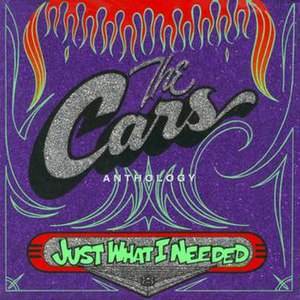 Just What I Needed: The Cars Anthology - Image: The Cars Anthology Cover