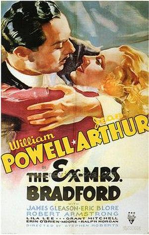 The Ex-Mrs. Bradford - Theatrical Film Poster